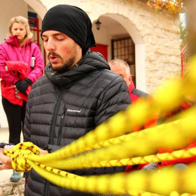 Luka Dubravica, novi pročelnik šibenskog HGSS-a