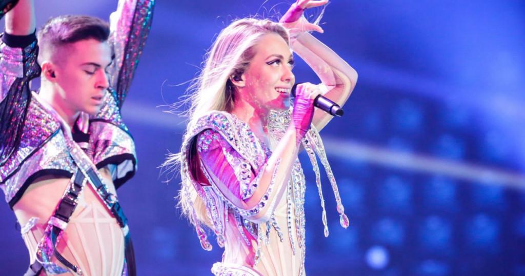 Albini se smiješi ulazak u veliku završnicu Eurosonga.