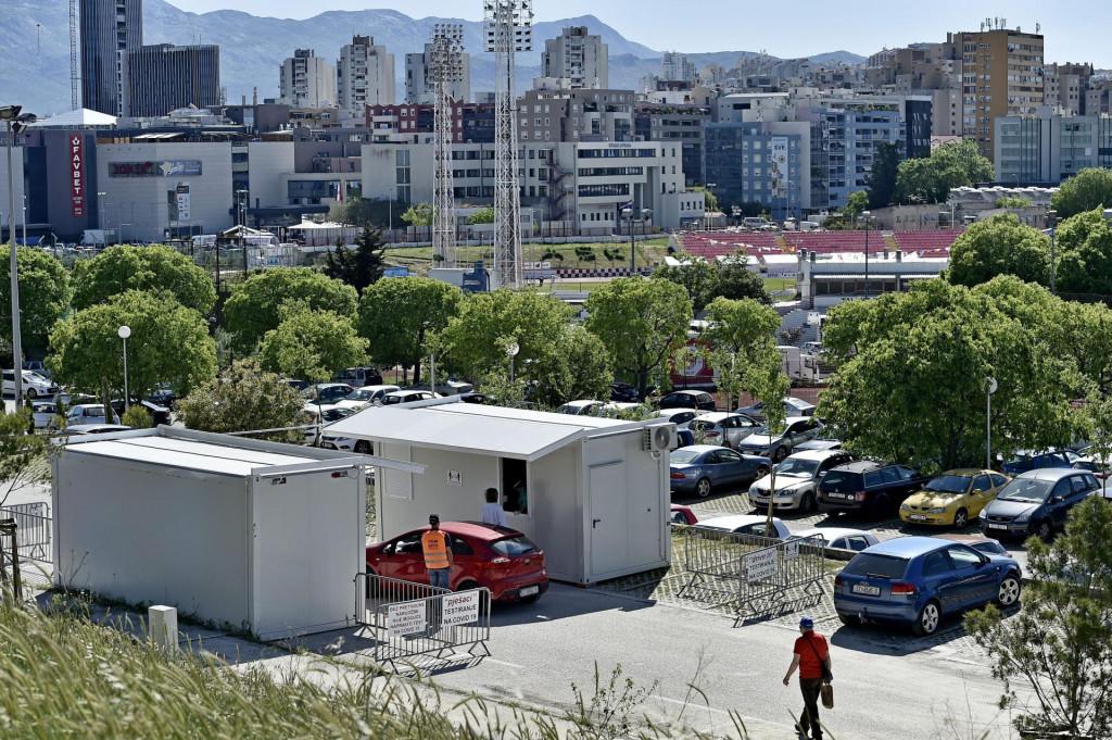Novi punkt za testiranje na koronavirus na Turskoj kuli