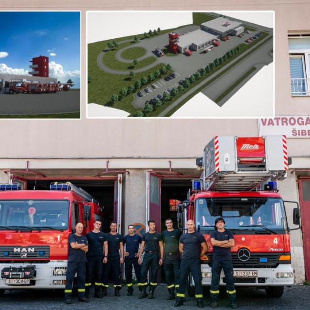 Šibenski vatrogasci, njih 60-ak, trebali bi dobiti novi, moderan objekt vrijedan 40 milijuna kuna