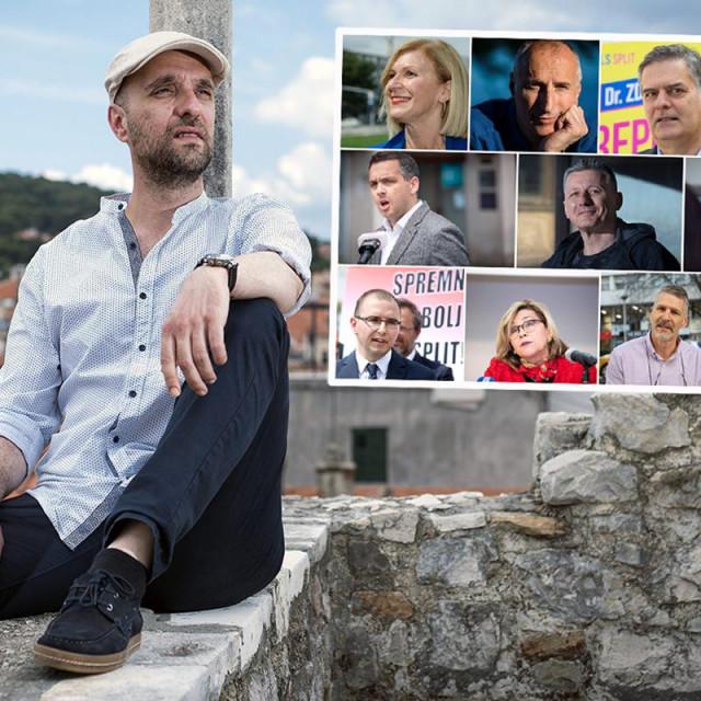 Damir Šarac i splitski kandidati za gradonačelnika