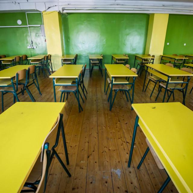 Prazni razredi šibenske gimnazije
