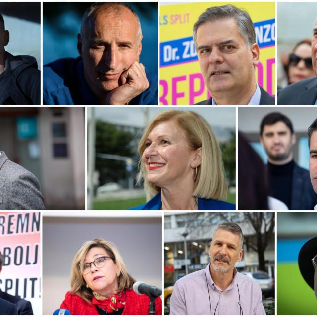 Kandidati za splitskoga gradonačelnika