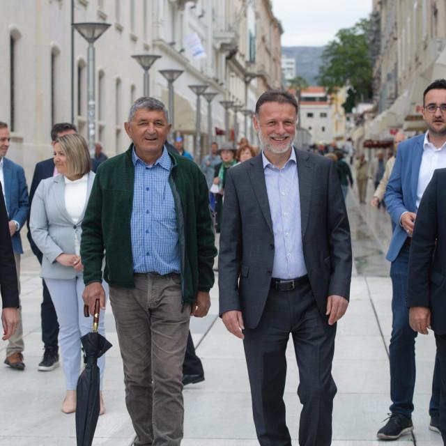 Gordan Jandroković, Jelena Burazin, Stipe Božić i Blaženko Boban