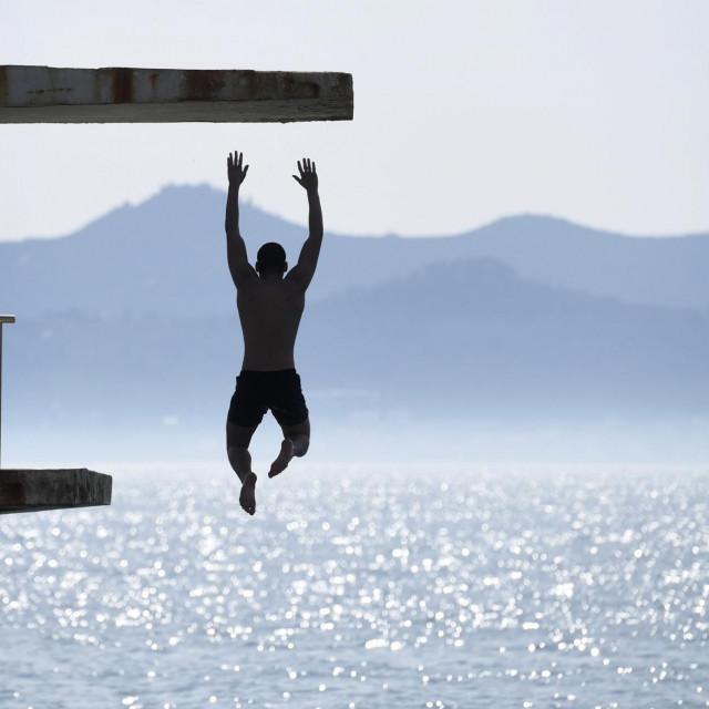 Na skakaonici na bazenu na zadarskim Kolovarama već je aktivno