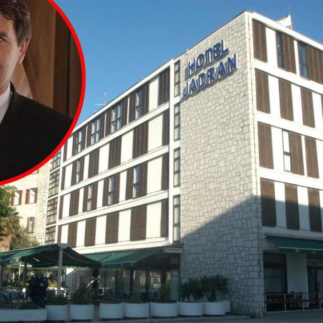 Ivo Dean, hotel 'Jadran' u Šibeniku