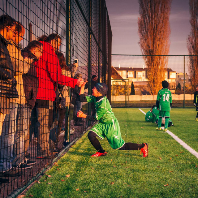 Dio očeva ne pušta sinove na miru ni na utakmicama ni na treningu