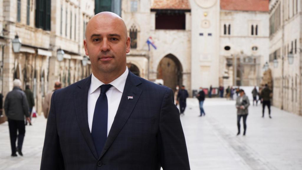 Roko Tolić, nezavisni kandidat za dubrovačko-neretvanskog župana s potporom SDP-a i HNS-a