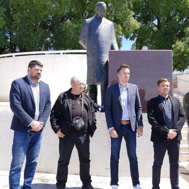 Saša Franjkić, Željko Kerum, Toni Jurišić i Igor Stanišić