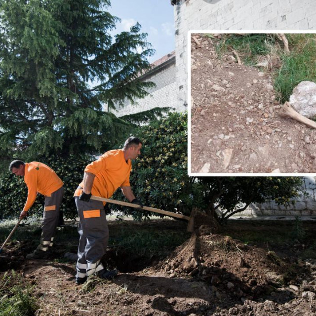 Ljudski ostaci opet će se zakopati pod zemlju u centru grada