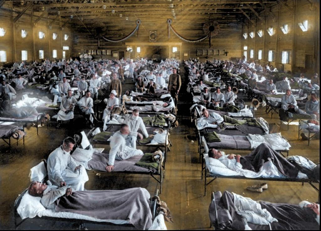 Pandemija iz 1918., poznata i kao Španjolska gripa, bila je jedna od najtežih u bliskoj povijesti, a zahvatila je i SAD
