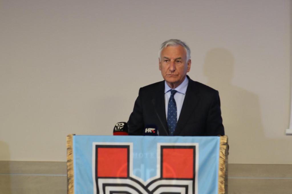 Konferencija za novinare županijskog HDZ-a