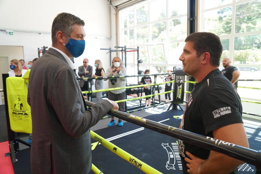 Uređena dvorana za borilačke sportove u Gospinom polju