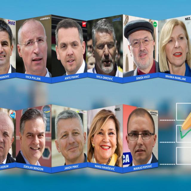 Kandidati za gradonačelnika Splita