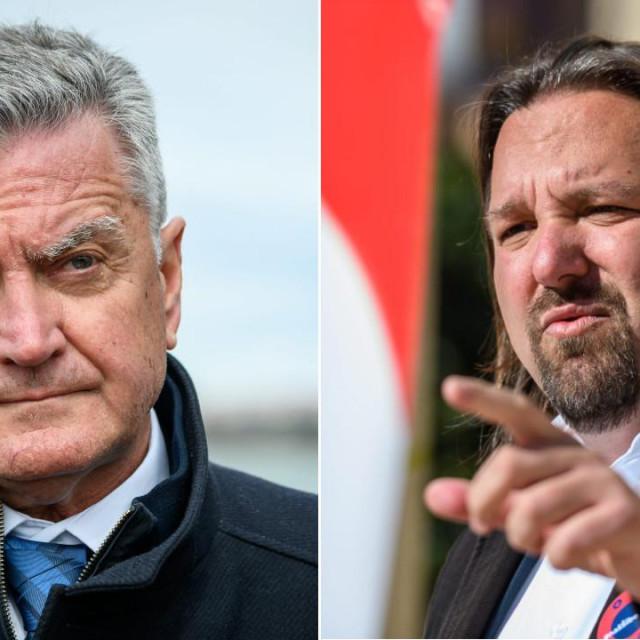 Željko Burić i Tonći Restović