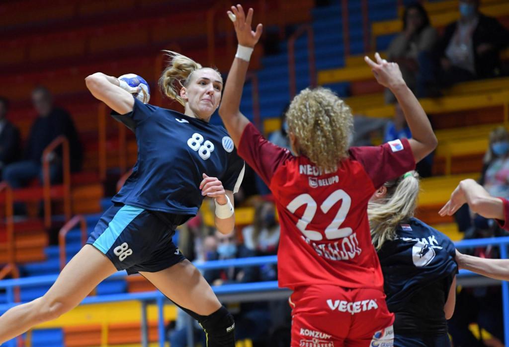 Kristina Prkačin (Lokomotiva) protiv Podravka Vegete