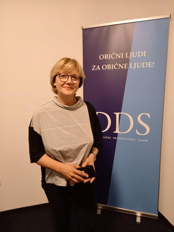 Terezina Olrić, kandidatkinja za županicu