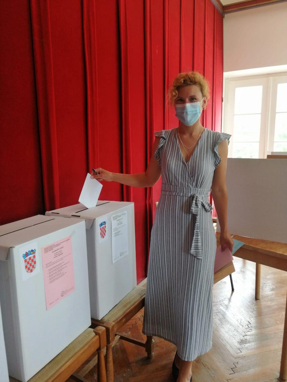 SDP-ova kandidatkinja za načelnicu Općine Lumbarda Marija Klisura