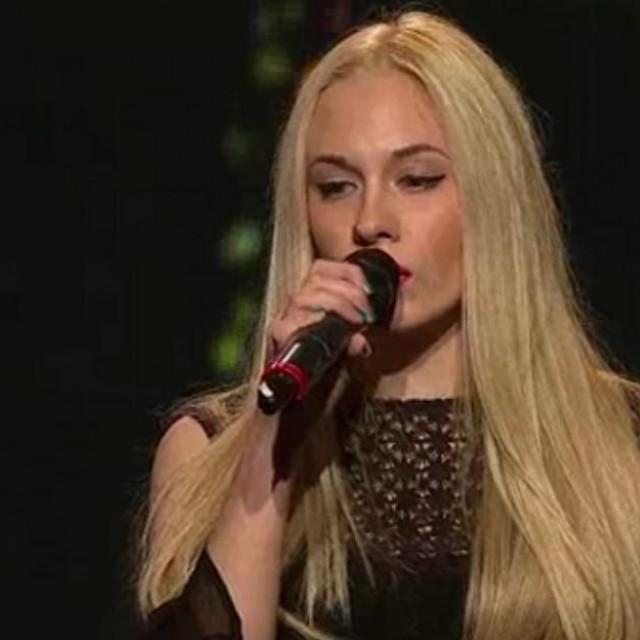 """Albina Grčić je 2015. sudjelovala u regionalnom showu """"X Factor Adria""""."""