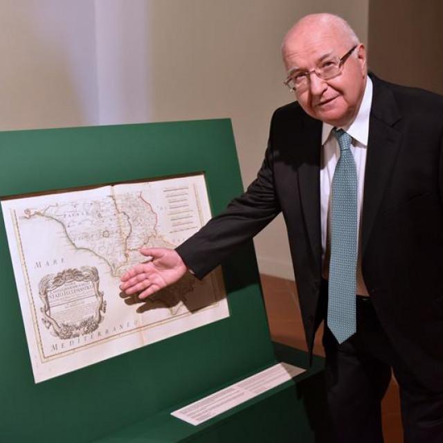 "Otvorena izložba ""Novi zemljovid Papinske države iz 1755."""
