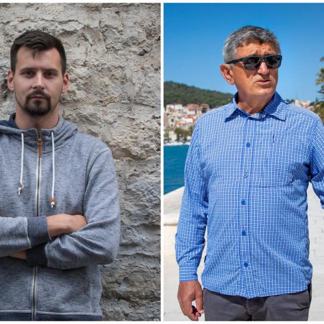 Bojan Ivošević i Stipe Božić