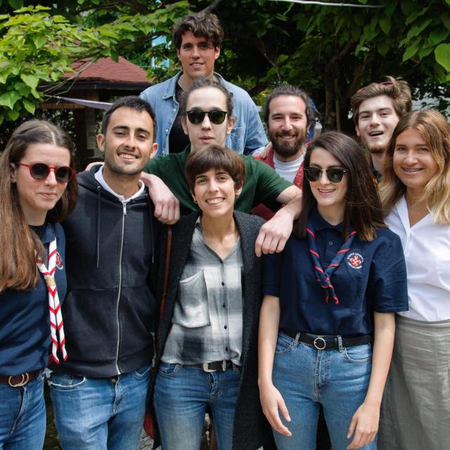 Splitski izviđači s volonterima iz Španjolske i Rusije