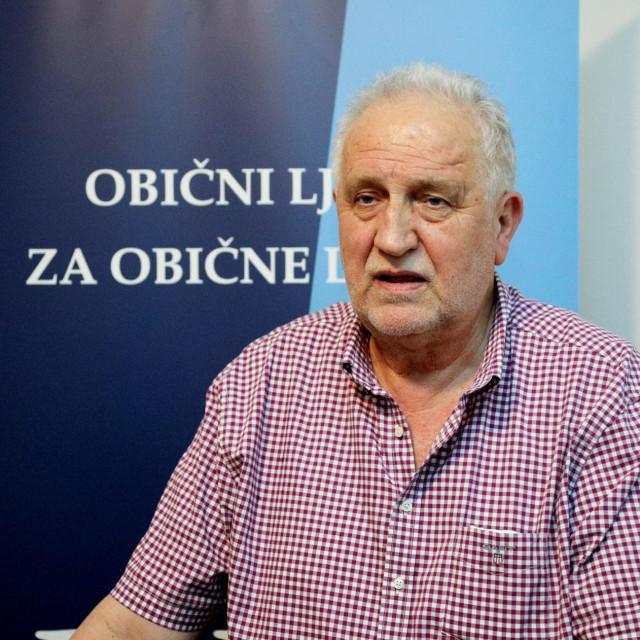 Pero Vican, predsjednik Dubrovackog demokratskog sabora ulazi u drugi krug izbora za gradonacelnika<br />