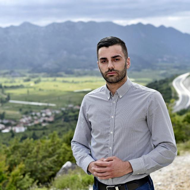 Matej Marević, kandidat za načelnika općine Pojezerje
