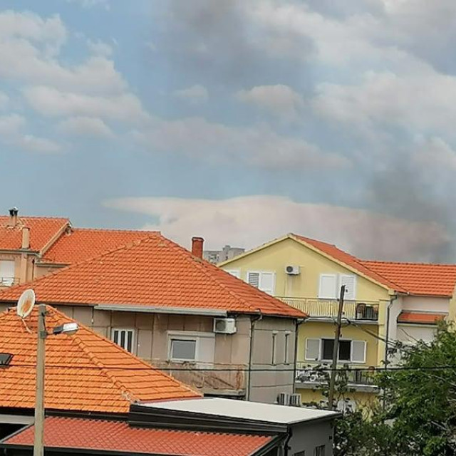 Požar na Voštarnici