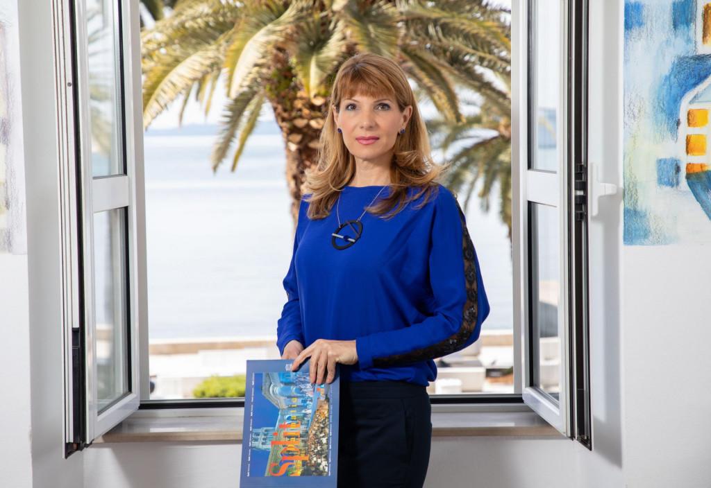 Alijana Vukšić, direktorica Turističke zajednice Split