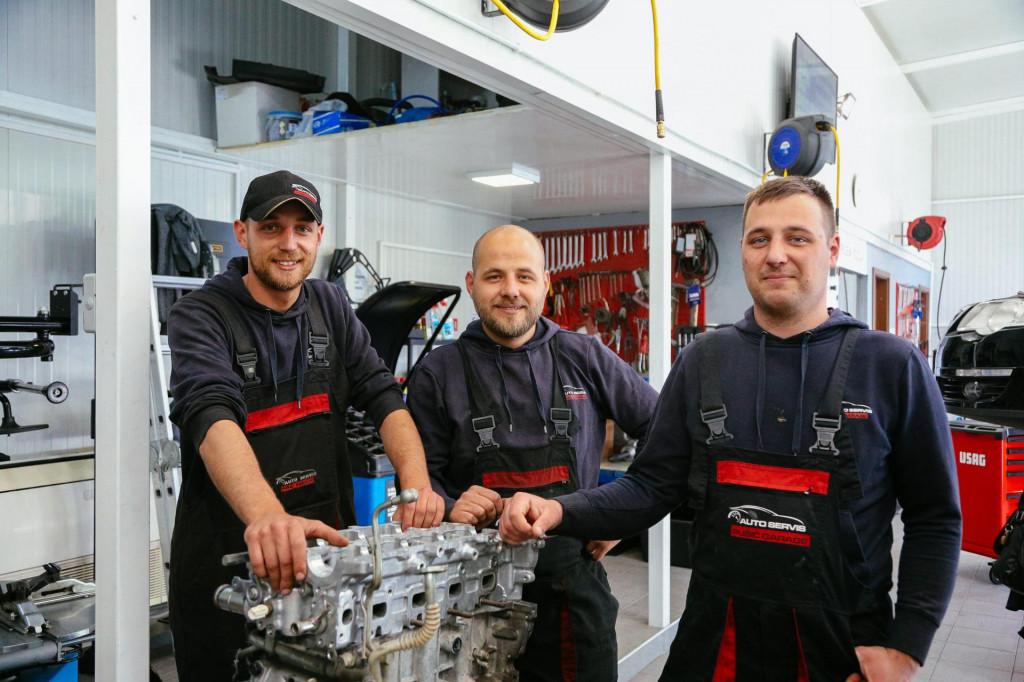 Mihael, Domagoj i Branimir Pušić