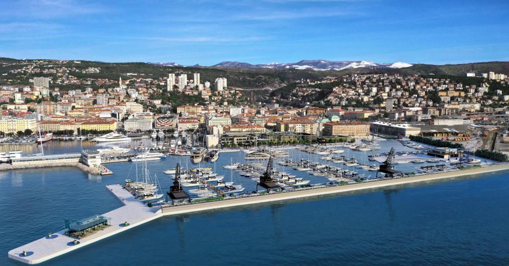 Porto Baroš u Rijeci