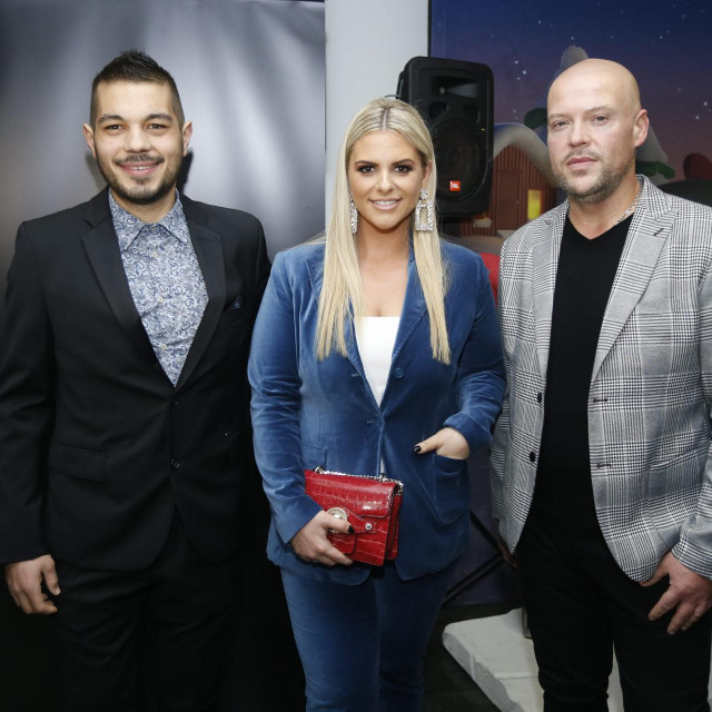 Nina Martina Korbar snimljena na dodjeli medijske nagrade Zlatni studio 2019. godine.<br />