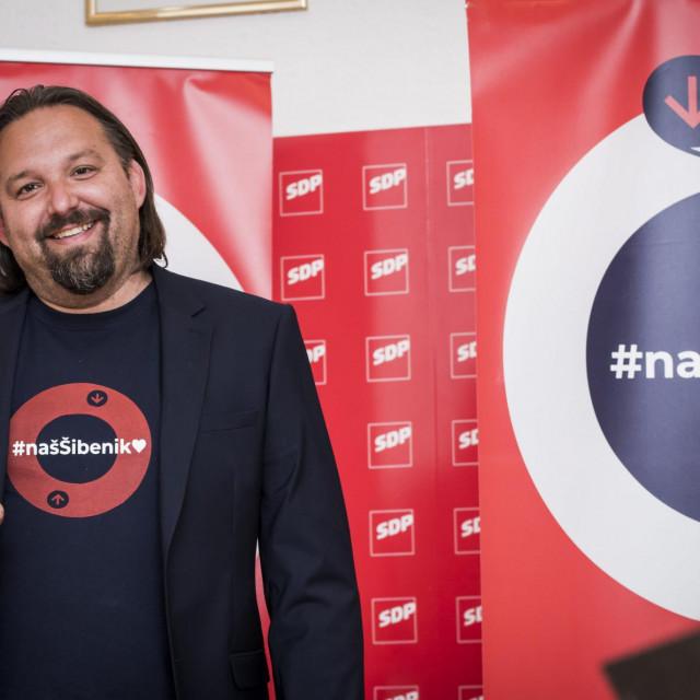 Tonči Restović, kandidat za gradonačelnika Šibenika