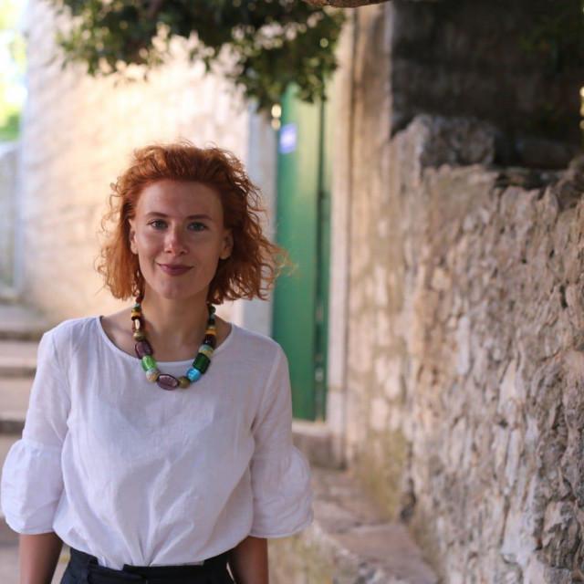 Marija Klisura, kandidatkinja za načelnicu općine Lumbarda