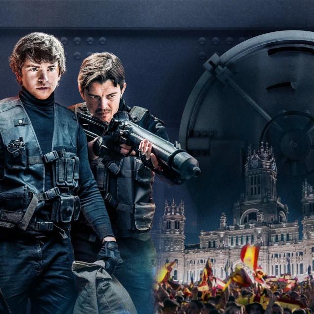 Završnica Mundijala 2010. kulisa je za pljačku trezora Središnje banke Španjolske