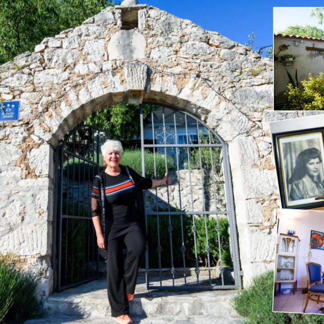 Duška i Ivo Zaninović uredili su staru kuću u Podlukovniku po svom guštu