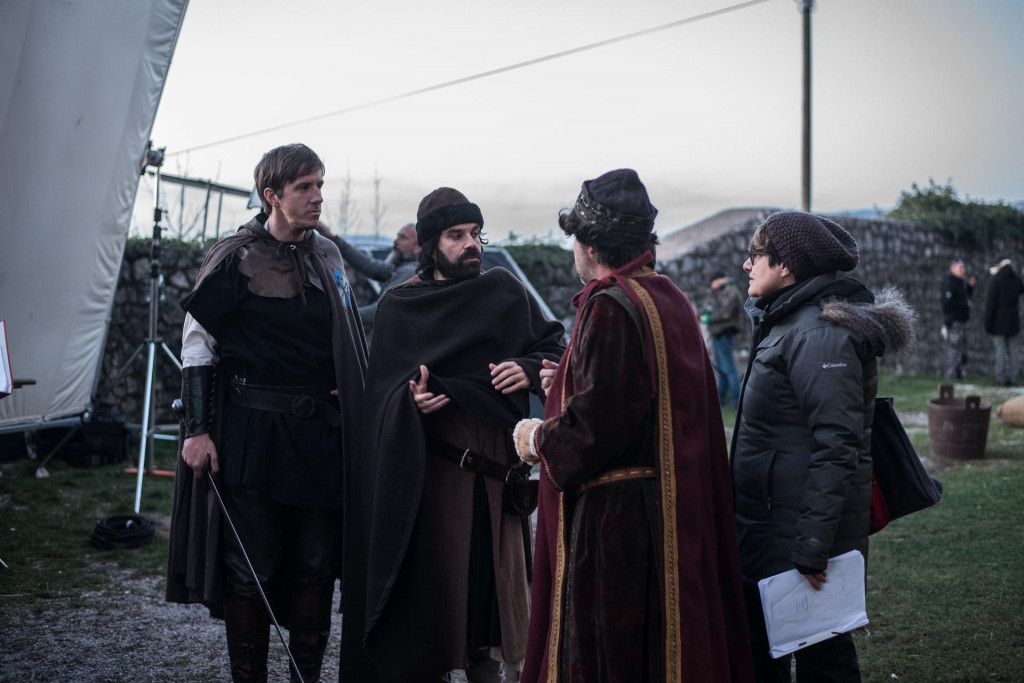 Snimanje sitcoma 'Mrkomir Prvi': Paško Vukasović, Ozren Grabarić, Robert Ugrina i redateljica Snježana Tribuson