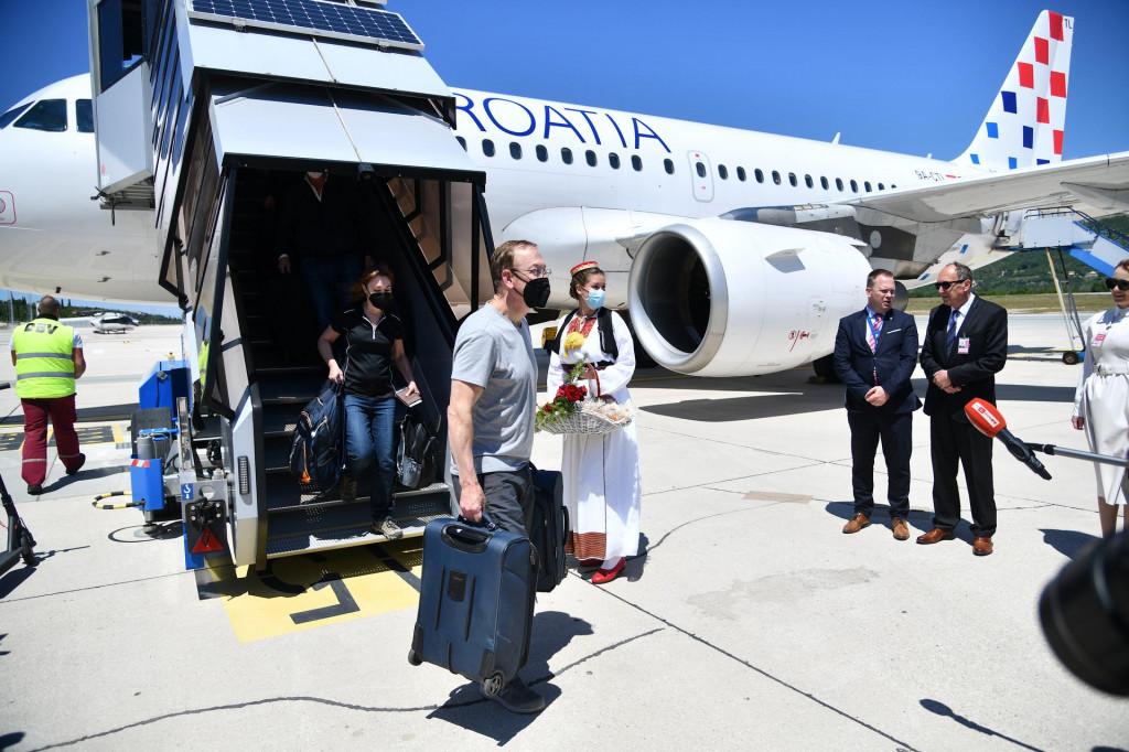 Prvi ovogodišnji međunarodni let Croatia Airlinesa na liniji Frankfurt – Dubrovnik