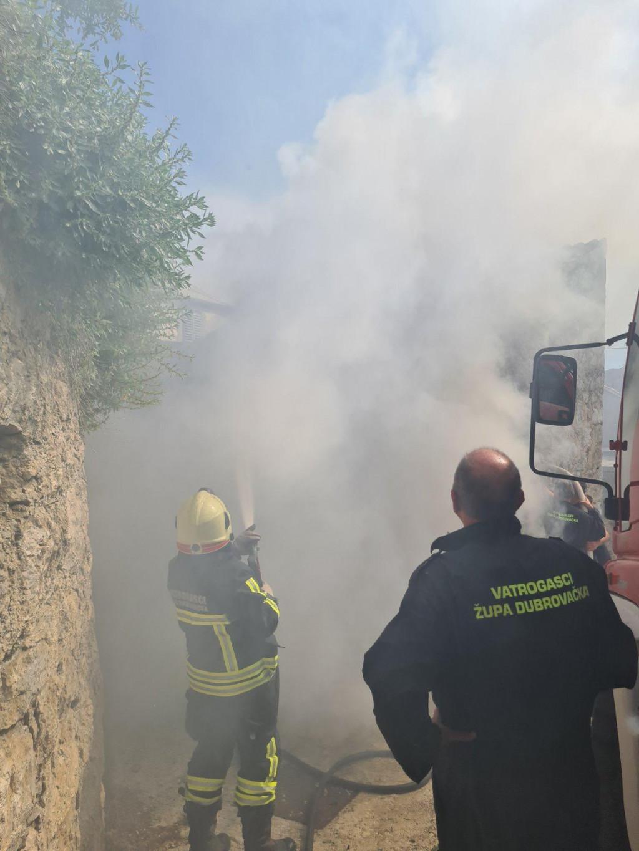 Vatrogasci su brzo lokalizirali požar