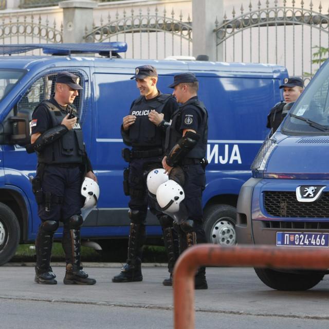 """Sumnja se kako je incident uzrokovan time što su """"delije"""" htjele pokazati kako su navijači Partizana desetkovani"""