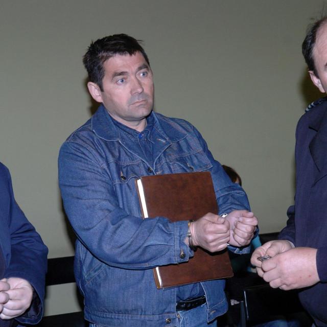 Ivan Bulj na splitskom sudu 2007. godine
