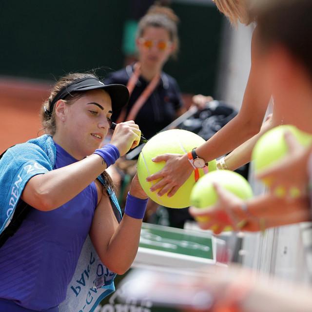 Ana Konjuh u Roland Garrosu 2017. godine