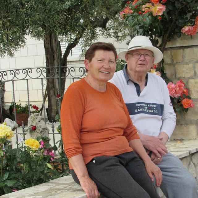 Tanja i Saženko Oreb ponosni su na svoj zeleni kutak