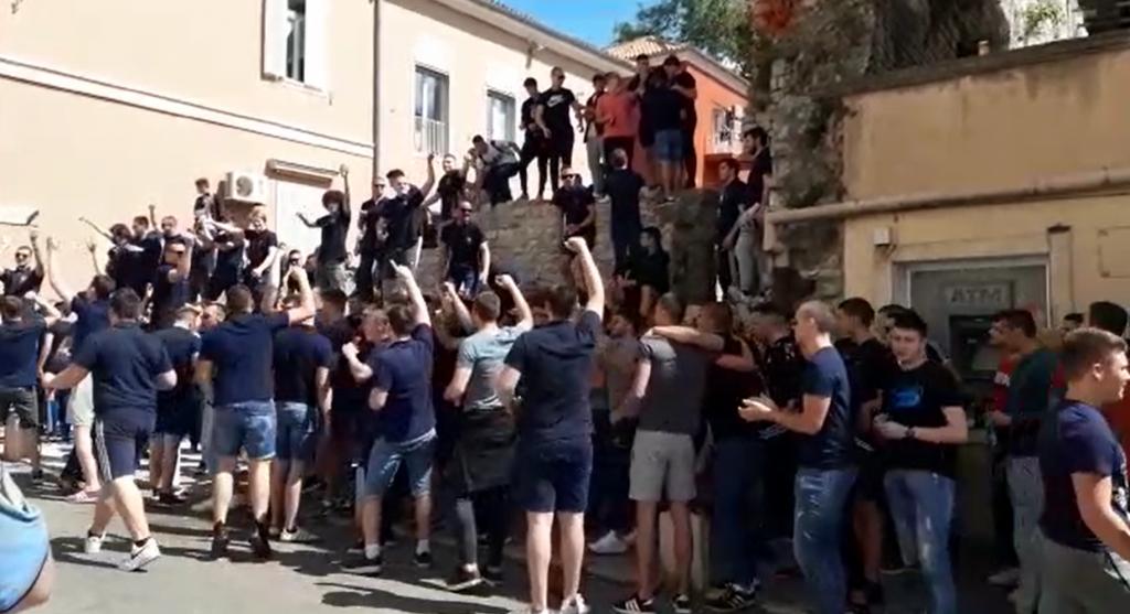 Norijada ispred Pomorske škole