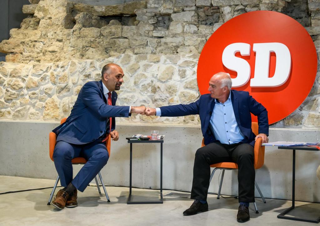 Marko Jelić i Goran Pauk na današnjem sučeljavanju