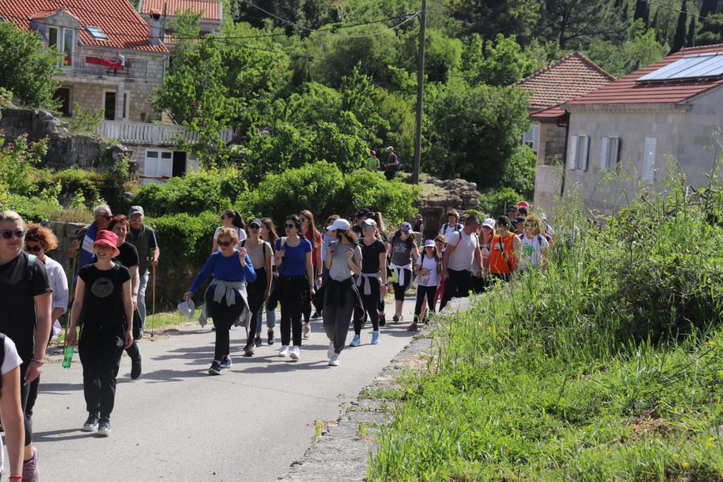 Pješačka tura Dubravka - Zastolje - Vodovađa – Dubravka
