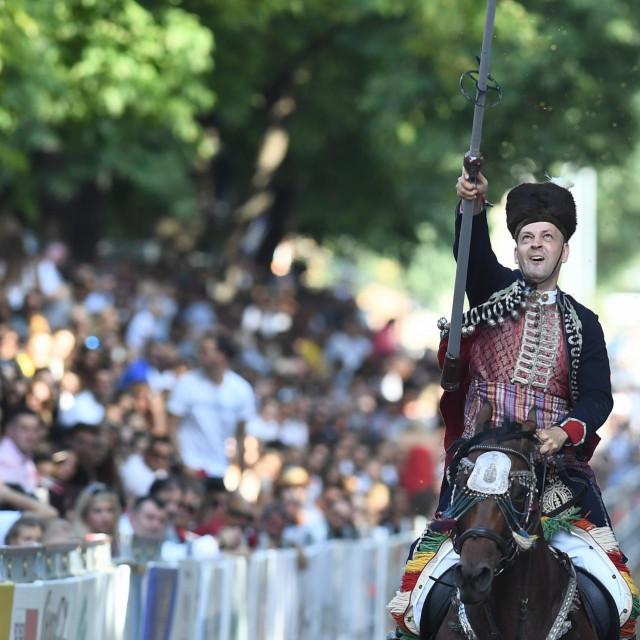 Viteška igra u Sinju tradicionalno privlači tisuće gledatelja
