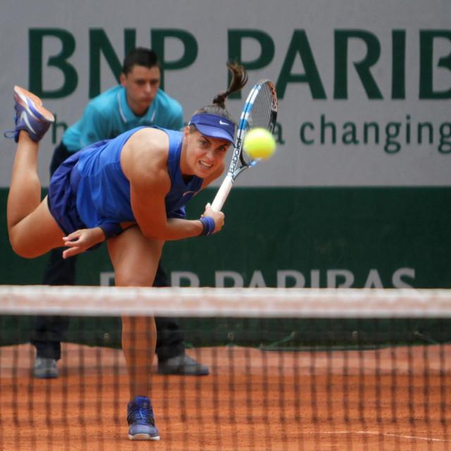 Ana Konjuh 2017. u Roland Garrosu