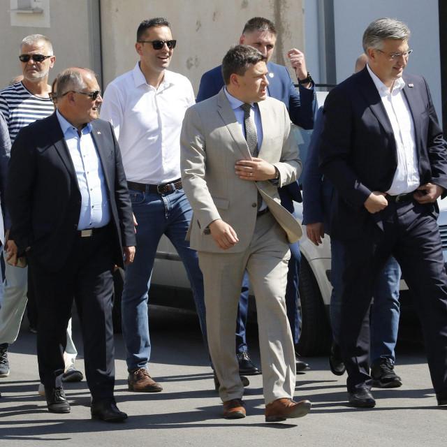 Premijer je u posjetu Dalmaciji